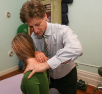 new york city and princeton nj chiropractor ronald lavine dc provides neck mobilization