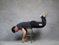 Reverse Spine Extension - Ending Position